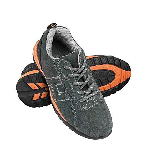 Reis Brneutron40 Sichere Schuhe, Grau-Orange, 40 Größe