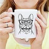 Gaston the French Bulldog Mug - Dog Mug, Dog Lover Gift