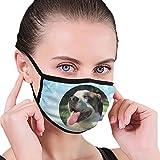 CZLXD - Máscara Antipolvo para Perro y Madre del Vino