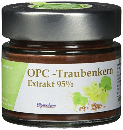 OPC PULVER   reiner Traubenkernextrakt mit 95% OPC   70 Gramm   Premium Qualität aus Deutschland