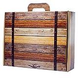 Zoom IMG-1 confezione regalo valigia cartone stile