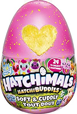 HATCHIMALS 6056664 EGP HatchimalPlsh Rhooby GML, Grey by Spin Master