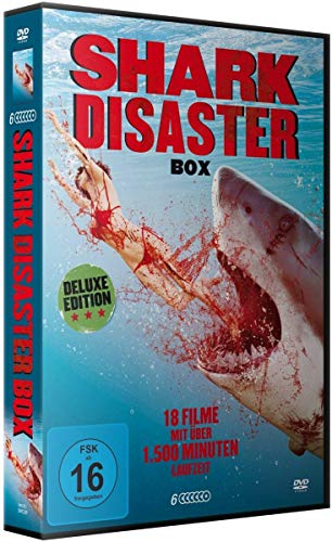 Shark Disaster - Deluxe Box Edition (18 Filme) [6 DVDs]