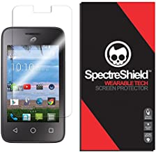 Spectre Shield Screen Protector for Alcatel Onetouch Pixi GLITZ Accessory Alcatel Onetouch Pixi GLITZ Screen Protector Case Friendly Full Coverage Clear Film