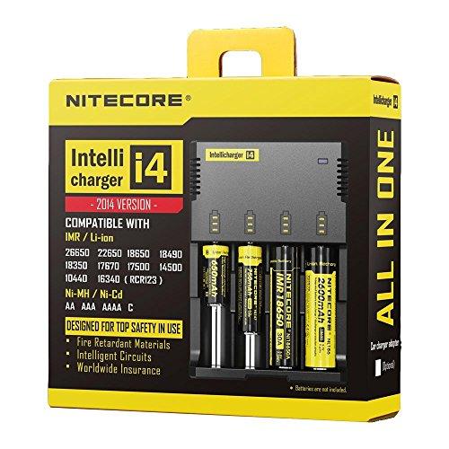 NiteCore Akkuladegerät Intellicharge i4