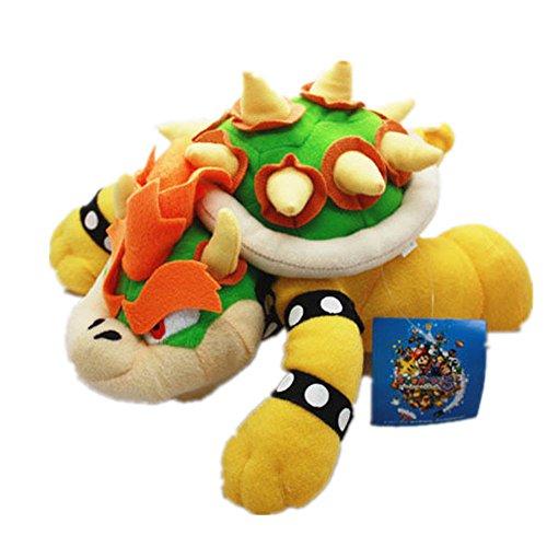 Super Mario Bros King Bowser Koopa Plush stuffed doll Toy 10'NEW