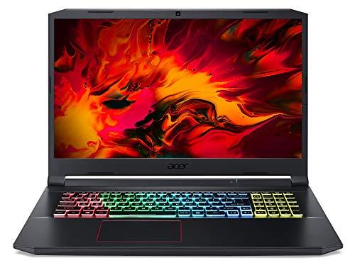 Acer Nitro 5 (AN517-52-77DS) 17.3' Full HD IPS 120 Hz (matte) / Intel CoreTM i7-10750H / 16 GB DDR4 RAM / 1,000 GB PCIe SSD / NVIDIA GeForce RTXTM 2060 / Win 10 Home (64 bit) / Black
