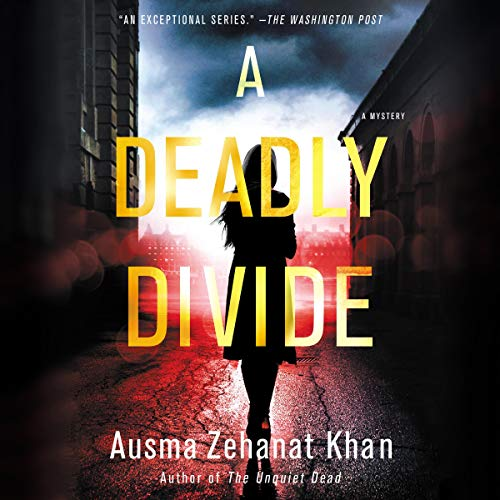 A Deadly Divide audiobook cover art