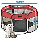 Mcdear dog playpen Large Pet Pen for Dogs Cats Puppy Rabbits Small Animals