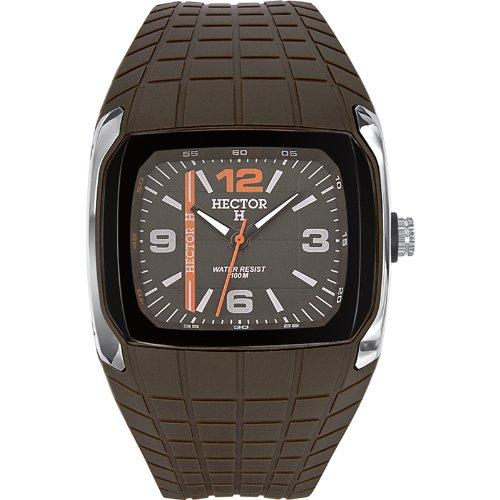Hector H Herren-Armbanduhr Analog Quarz Plastik 665246