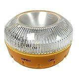 MAGIC SELECT Luz de Emergencia homologada v 16, autorizada por la DGT para señalización en emergencias de Carretera para Coche y Moto, Linterna imantada para vehículo (1)