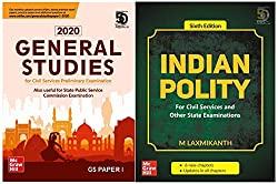 UPSC Prep Combo : General Studies - Paper I 2020 + Indian Polity 6th Edition (Set of 2 Books)
