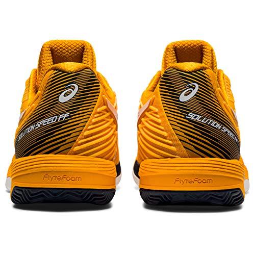 ASICS Solution Speed FF Clay, Zapatos de Tenis Hombre, Blanco ámbar, 46.5...