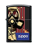 Zippo Custom Lighter Design Protective Hazmat Suit Men in Mask Windproof Collectible - Cool Cigarette Lighter Case Made in USA Limited Edition & Rare