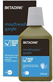 Betadine Mouth Gargle 250 ml