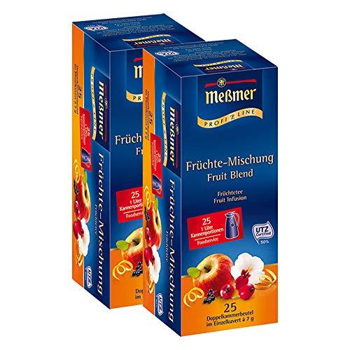 Meßmer ProfiLine Früchte-Mischung, 25 Kannenportionen / 2er Pack