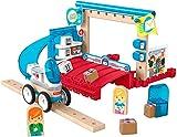 Fisher-Price - Wonder Makers Ufficio Postale con Binari e Costruzioni Giocattolo per Bambini 3+ Anni, GFJ14
