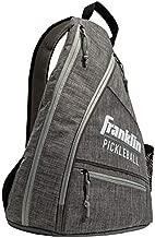 Franklin Sports Pickleball Bag - Men's and Women's Pickleball Backpack - Adjustable Sling Bag - Official Bag of U.S Open Pickleball Championships - Gray/Gray