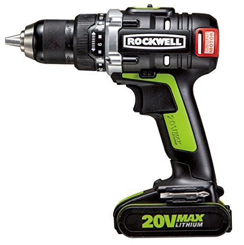 Rockwell RK2852K2 Li-ion Brushless Drill/Driver, 20V by Rockwell