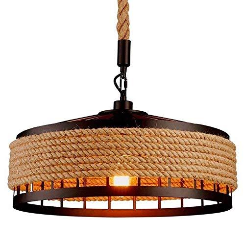 ZSAIMD Luces pendientes industriales, Islas de cocina cosecha colgando artefacto de iluminación de techo de la vendimia de la lámpara que cuelga luces de la lámpara colgante retro accesorios for la co
