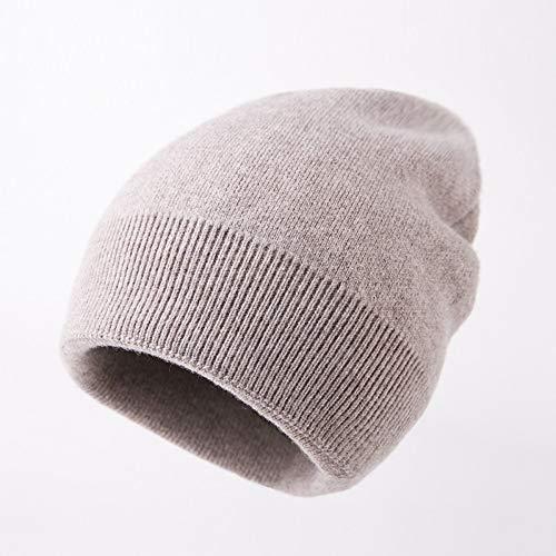 CHENGWJ hoed wol draad gebreide mannen en vrouwen winter casual wild dikke eenvoudige hoed