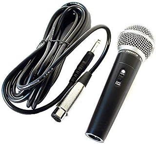 Micrófono profesional dinámico de canto para estudio y cable de 5 m
