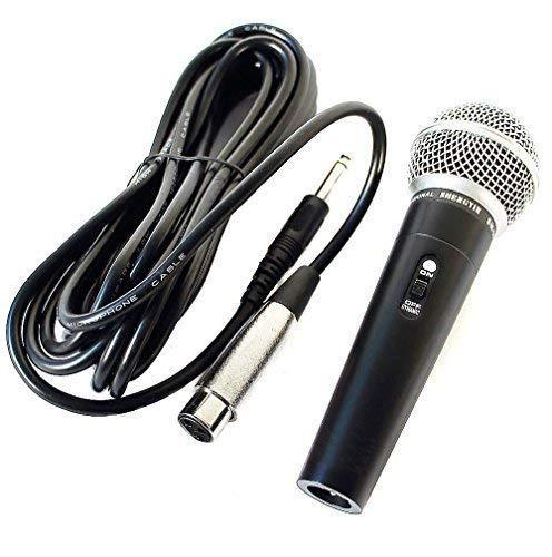 Profi Mikrofon Dynamisches Gesangsmikrofon Studio, 5m Kabel Microphone (SM58)