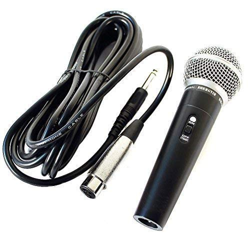 micrófono profesional dinámico micrófono para canto Studio, 5m ca