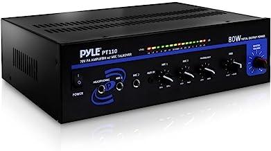Compact Public Address Mono Amplifier – Professional 50W Mini Home Power Audio..