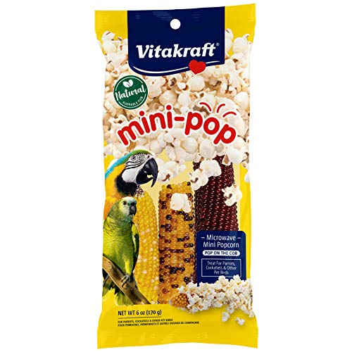 Vitakraft Mini-Pop Corn Cob Bird Treat
