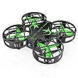 SNAPTAIN H823H Mini Drone Enfant, Drone Jouet, 21 Mins Autonomie, 3 Batteries, Hélicoptère Télécommande, Mode sans Tête, 360°Flips, Maintien d'Altitude, Facile à Piloter, Vert