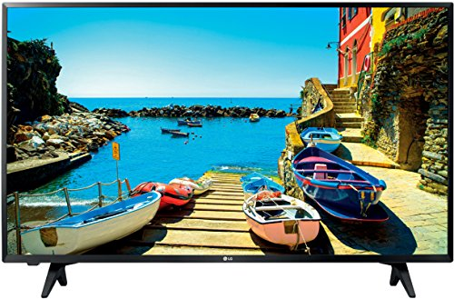 LG 32LJ500V - Televisor LED (32', Full HD, 1920 x 1080 píxeles, Full HD, LED, Plano, 10 W), Color Negro