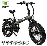 Bici Elettrica Pieghevole FAT BIKE 20' pollici batteria 48V Volt 13AH Litio Samsung Telaio in...