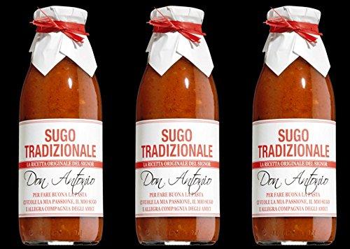 Sugo Tradizionale (mit Oregano) - 3x 480 ml (500 g)