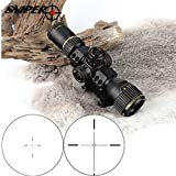 WINFREE Sniper VT 3-12X32 Compact First Focal Plane Hunting Rifle Scope Glass Etched Reticle Tactical Optical Sight Riflescopes