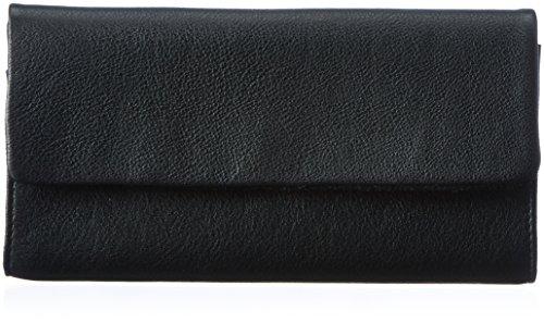 Vagabond Damen Wallet No 22 Geldbörse, Schwarz (black), 2x10.5x19.5 cm