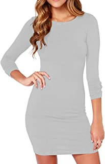 Amazon.com  3 4 Sleeve - Club   Night Out   Dresses  Clothing 8f27a7bd0eae