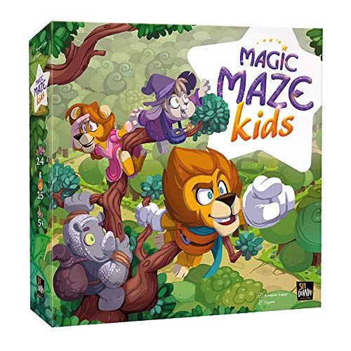 Pegasus Spiele Magic Maze Kids - Juego de Mesa (Contenido en ...