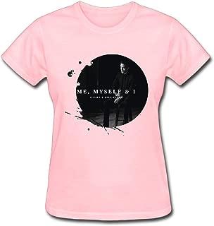 G-Eazy Bebe Rexha When It's Dark Out Me, Myself & I Women's Cotton Short Sleeve T-Shirt