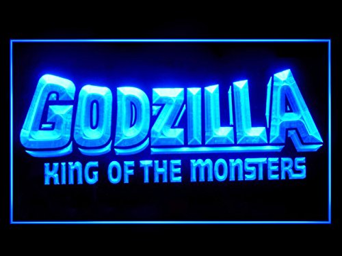 Lamazo Godzilla King of The Monsters Bar Led Light Sign