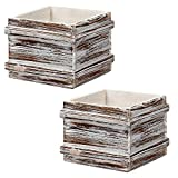 Wooden Planter Boxes Rectangle