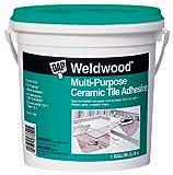 DAP 7079825192 Mp Ceramic Tile Adh Gal Raw Building Material, Gallon, Off-White, 128 Fl Oz