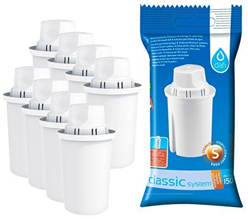Dafi Filterkartuschen kompatibel mit Brita Classic®, Pack 8