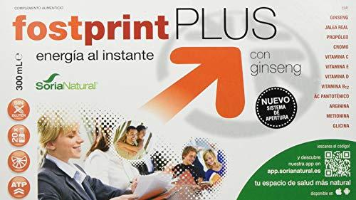 Soria Natural Fostprint Complemento Energético con Ginseng - 300 ml