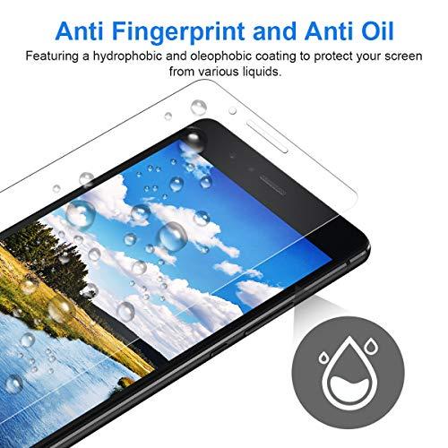 CRXOOX 3 Stück Panzerglasfolie für Huawei P9 Lite Panzerglas Schutzfolie HD Klar Anti-Kratzen, Anti-Fingerabdruck Blasenfrei Einfache Installation Displayschutzfolie Folie für P9 Lite - 6