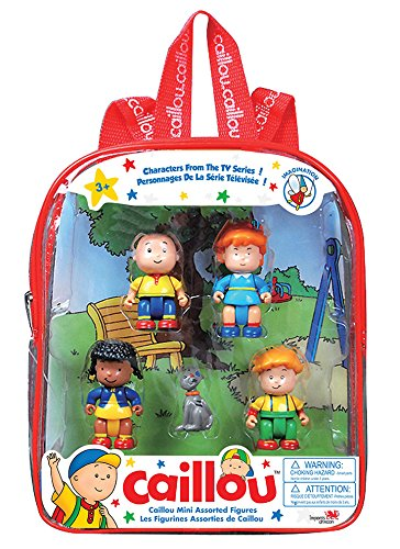 Caillou Mini Figures Collection