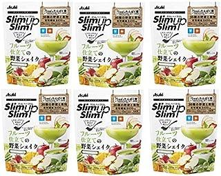 アサヒグループ食品 スリムアップスリム フルーツ仕立ての野菜シェイク 300g X6個セット