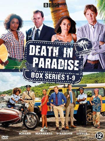 Death in Paradise (Series 1-9) - 18-DVD Box Set ( Death in Paradise - Series One to Nine ) [ NON-USA FORMAT, PAL, Reg.0 Import - Netherlands ]
