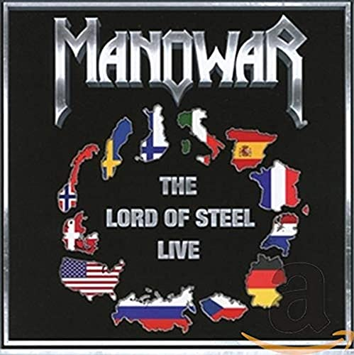 Manowar: The lord of steel - live (Audio CD (Live))