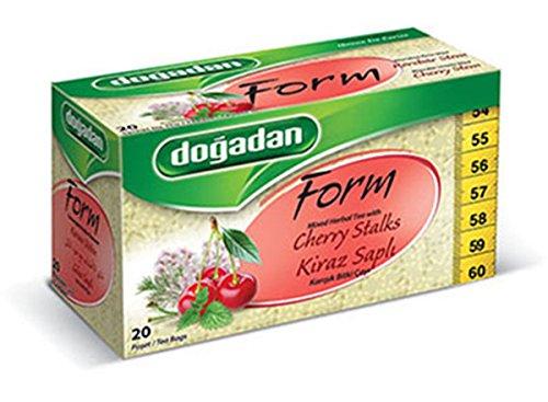 Dogadan Form Tee 20 Beutel Kirschstiel - gemischter Kräutertee